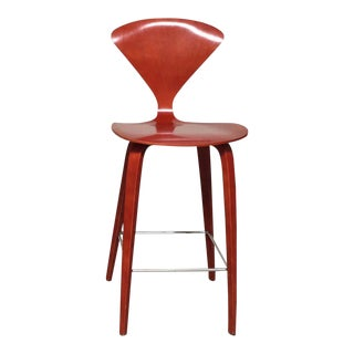 Norman Cherner Counter Stool For Sale