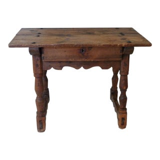 19th Century Rustic Spanish Console For Sale