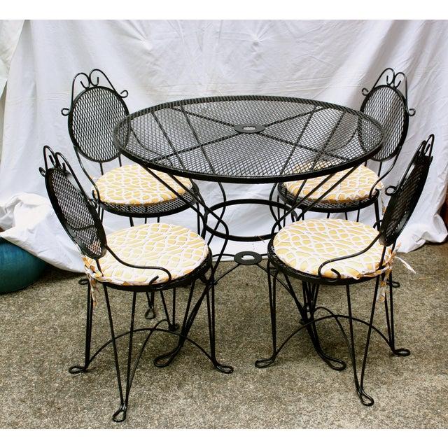 Vintage Iron Dining Set - Image 2 of 6