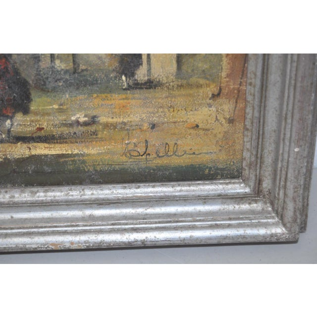 19th Century Italian School Oil Painting For Sale - Image 4 of 10
