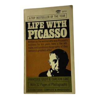 1965 Life With Picasso by F. Gilot & C. Lake