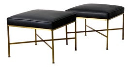 Image of Brass Ottomans and Footstools