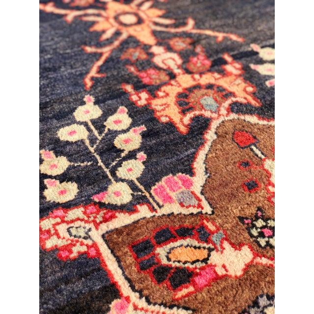 "Textile 1960s Persian Hamadan Runner - 2'11""x13'8 1/2"" For Sale - Image 7 of 13"
