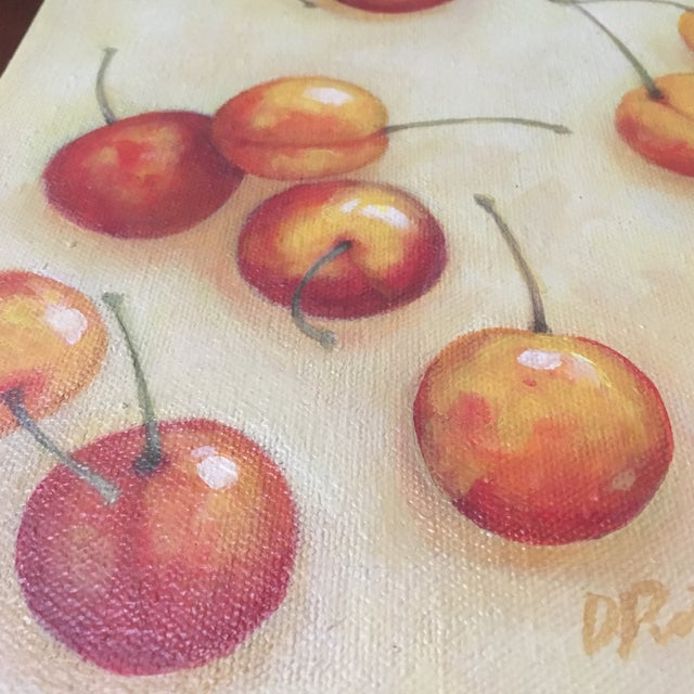 Signed Cherry Painting - Image 2 of 5