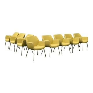 "Brian Kane for Coalesse ""Bindu"" Chairs - Set of 8 For Sale"