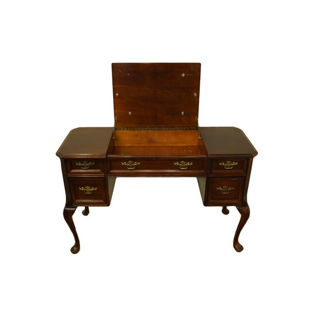 Bassett Furniture Eden House Collection Cherry Vanity For Sale In Kansas City - Image 6 of 13