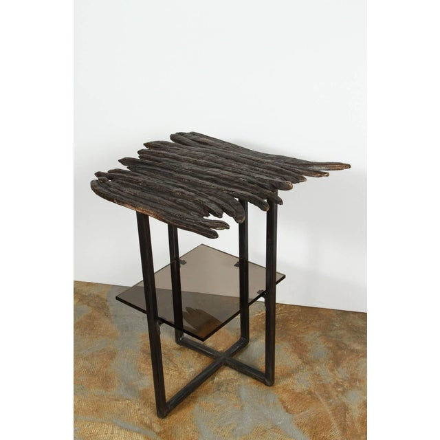 Metal Paul Marra Cast Bronze Pod Table For Sale - Image 7 of 7