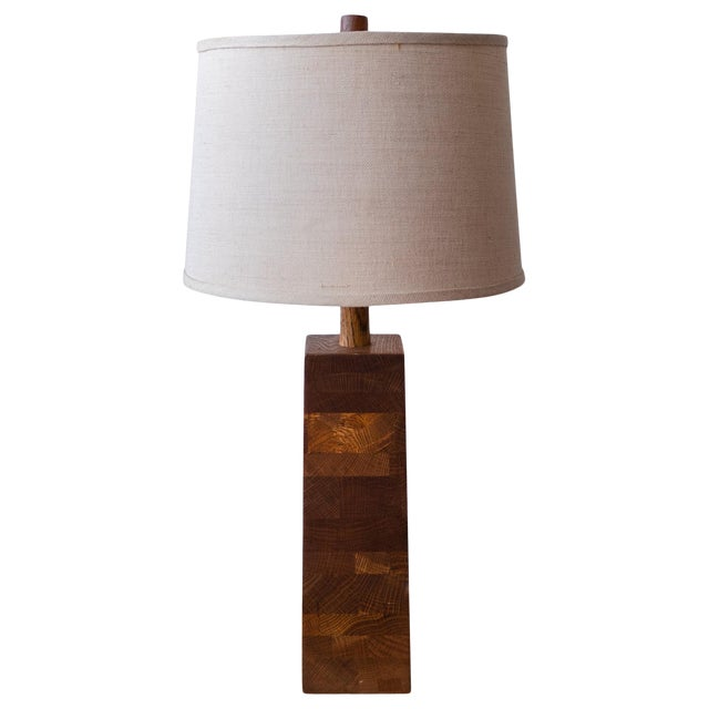 Jane and Gordon Martz Wood Lamp For Sale