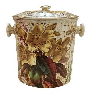 Vintage Lustreware Cache Pot For Sale