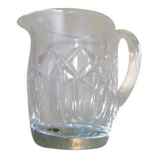 Vintage Waterford Crystal Pitcher For Sale