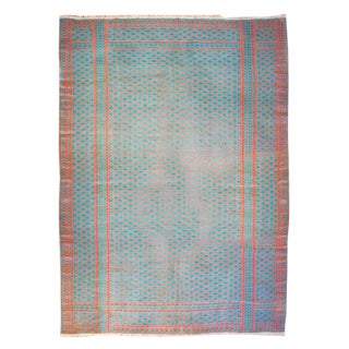 "Early 20th Century Saveh Kilim Rug - 70"" x 108"" For Sale"