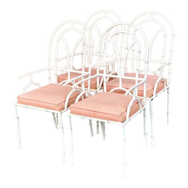 Vintage MCM Kessler Cast Aluminum Dining Chairs - Set of 4 For Sale