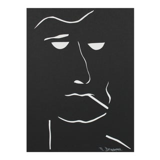 "Rob Delamater ""The Moderns VIII"" Monochromatic Portrait Collage, 2018 For Sale"