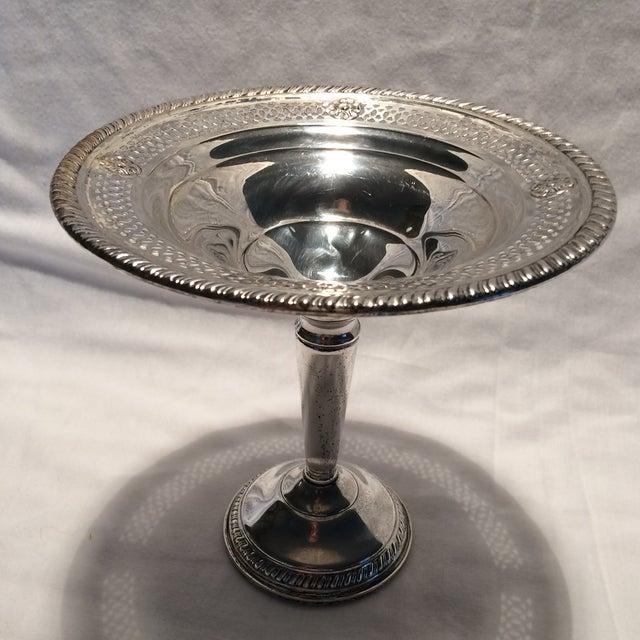 Vintage Sterling Silver Pedestal Dish - Image 3 of 10