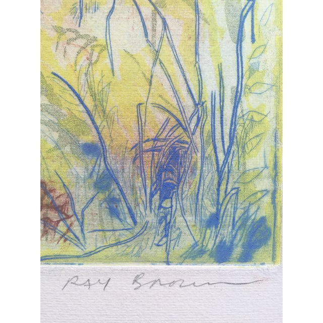 """""""Close View"""" Landscape Etching by Ray Brown For Sale - Image 4 of 6"""