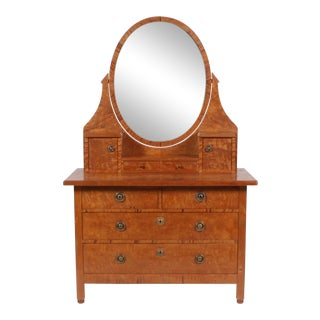 C.1900 Swedish Dressing Table For Sale