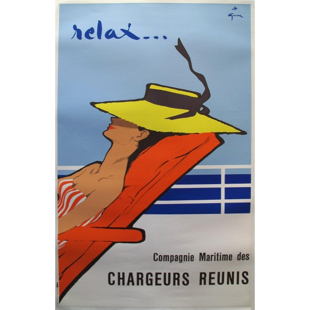 1960s French Advertisement Poster by René Gruau - Image 1 of 3