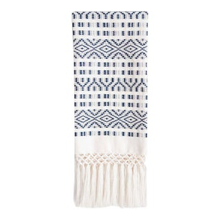 Navy Chiapas Hand Towel For Sale