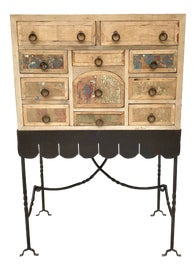 Image of Folk Art Storage Cabinets and Cupboards