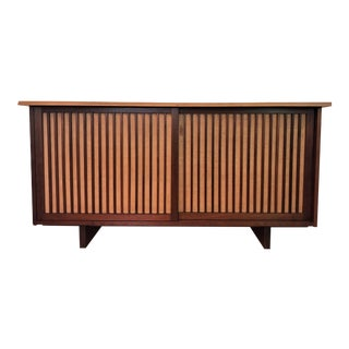 George Nakashima Walnut Double-Door Cabinet, 1959