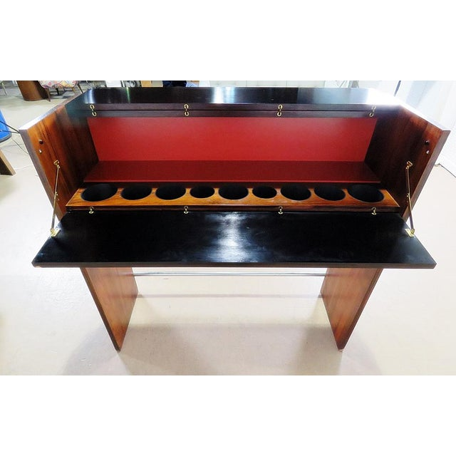Danish Rosewood Dry Bar For Sale - Image 4 of 9
