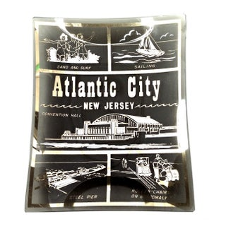 Atlantic City Glass Keepsake Tray