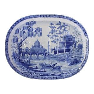 1820s Tiber River Meat Platter For Sale