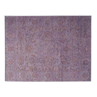 Stark Studio Rugs Traditional Overdyed Wool Rug - 10′ × 13′ For Sale