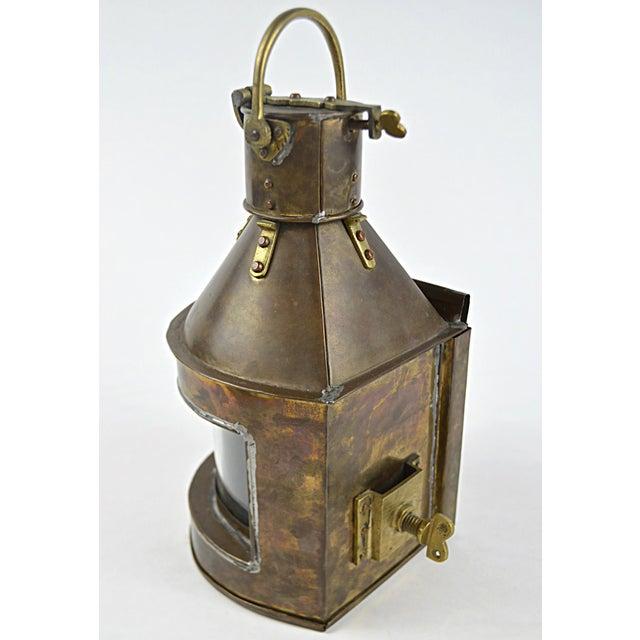19th Century Marine Starboard Signal Lantern - Image 5 of 6