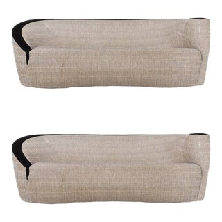 Pair of Valdimir Kagan Sofas