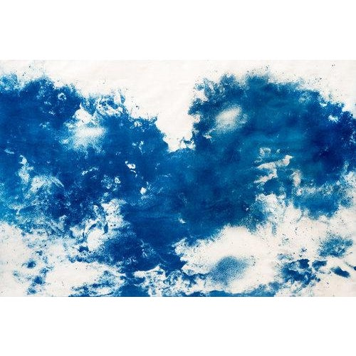"""Contemporary """"Moontide"""" Cyanotype Print For Sale - Image 3 of 3"""