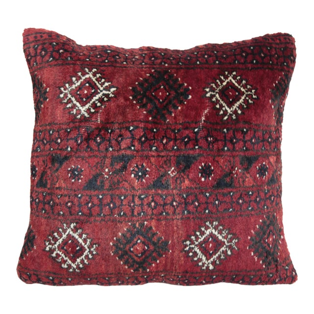 Turkish Decorative Rug Pillow Cover - Image 1 of 8