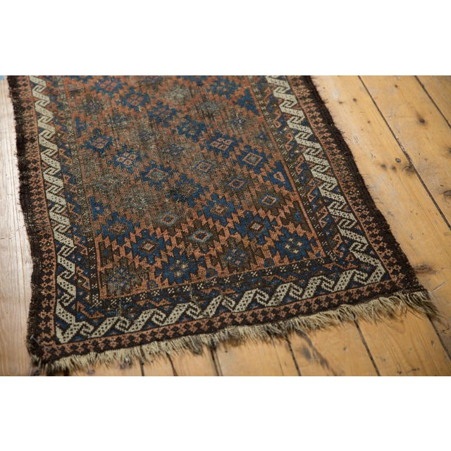 "Textile Antique Belouch Rug - 2'7"" X 4'6"" For Sale - Image 7 of 9"
