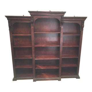 Traditional Hekman 3 Classical Bookcase For Sale