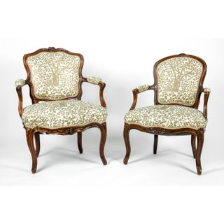 Early 19th Century Louis XVI Side Armchairs - a Pair Preview