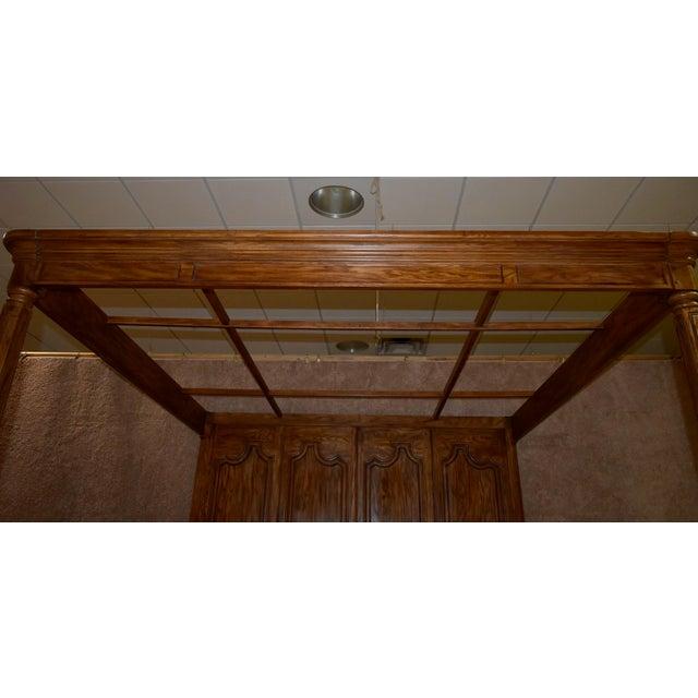 Vintage Drexel Heritage King Size Canopy Bed For Sale - Image 10 of 13