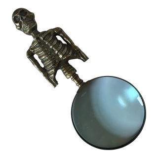 Skeleton Magnifying Glass