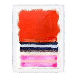 """Kristi Kohut """"Red Field"""" Original Print For Sale"""