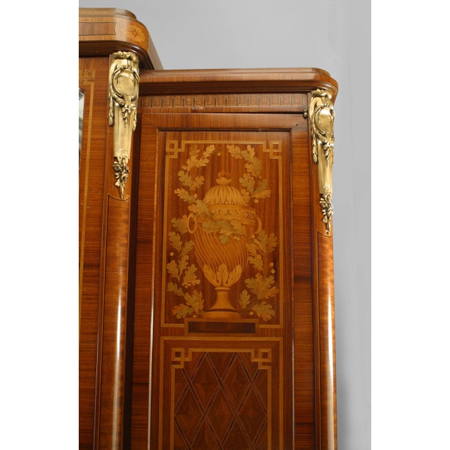 French French Louis XVI Style Satinwood Armoire For Sale - Image 3 of 6