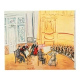 """Image of 1954 Raoul Dufy """"Chamber Music"""", First Edition Lithograph For Sale"""