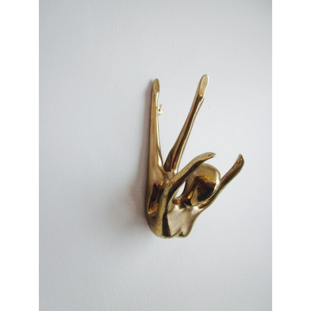 Brass Nude Art Deco Lady Paperweight - Image 4 of 10