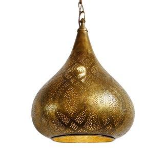Brass Trombia Lantern For Sale