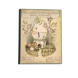 """""""The Meadow Maiden's Bridal Ride"""" 1932 German Language Book For Sale"""