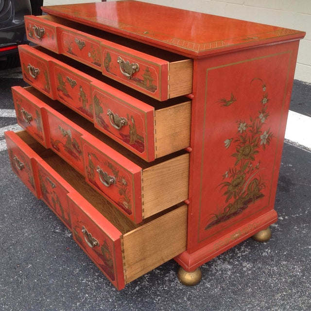 1980s Chinoiserie Chest by Baker For Sale - Image 5 of 13