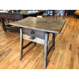 18th Century Traditional Spanish Tavern Oak Side Table Preview