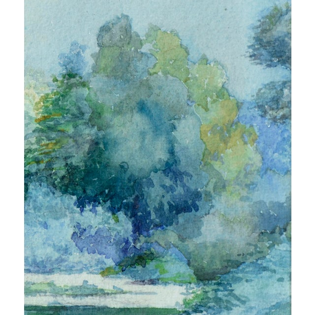 Impressionism At Water's Edge by Emma Lou Redwine For Sale - Image 3 of 5