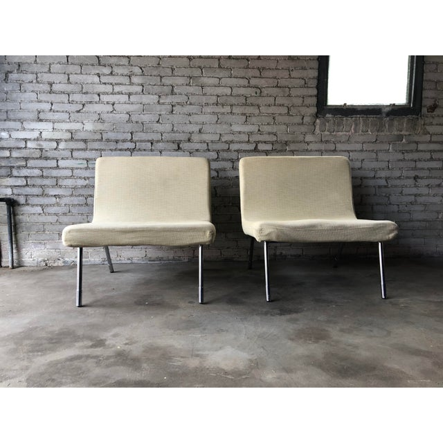 Roche Bobois 1990s Roche Bobois Chrome Lounge Chairs - a Pair For Sale - Image 4 of 13