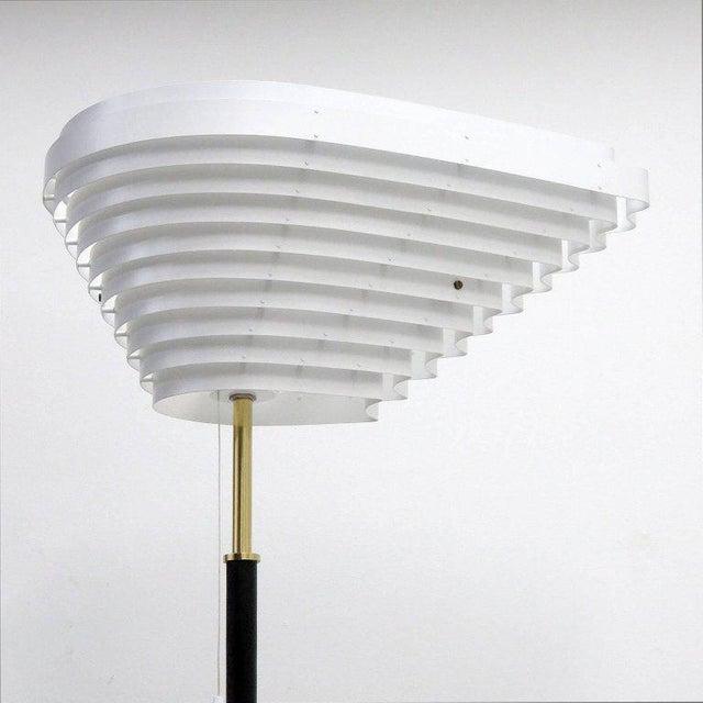 Gold Alvar Aalto Model A805 'Angel Wing' Floor Lamp For Sale - Image 8 of 13