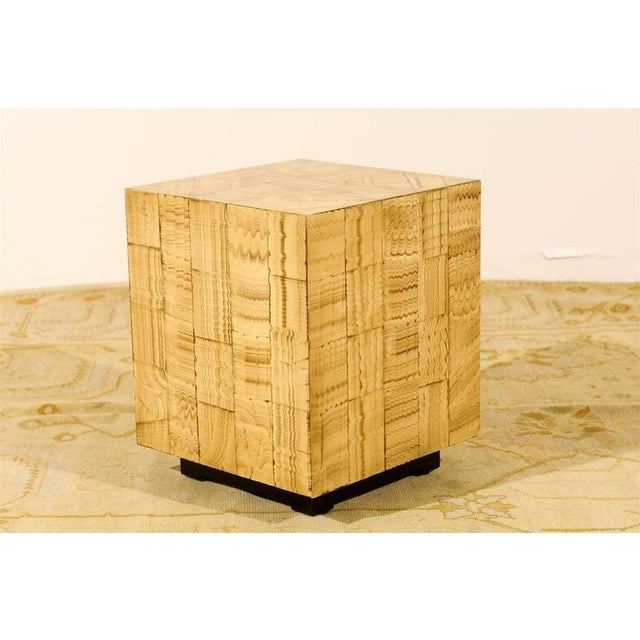Pair of Hand Lacquered Cubes by Allesandro for Baker For Sale - Image 9 of 10