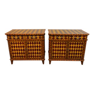 Harlequin Designs Cabinets- a Pair For Sale